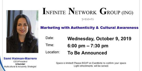 Marketing with Authenticity & Cultural Awareness tickets