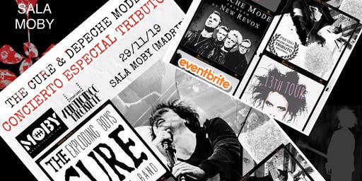 CONCIERTO ESPECIAL TRIBUTO A THE CURE Y DEPECHE MODE EN LA SALA MOBY MADRID
