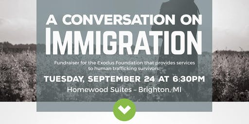 """A Conversation  on Immigration"" - Exodus Foundation Fundraiser"
