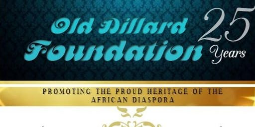 OLD DILLARD FOUNDATION Anniversary  - 25  years & still going strong!