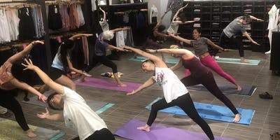 FREE Body Sculpt Yoga with Fabletics by Meena Walker