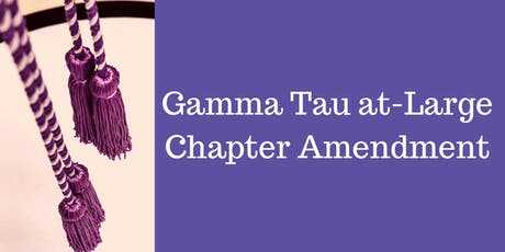 Gamma Tau at-Large Chapter Amendment Ceremony - Welcome CSU Channel Islands tickets