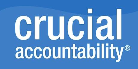 Crucial Accountability 1 Day Training - Wellington tickets