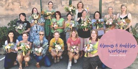 Blooms & Bubbles - Flower Arranging Workshop tickets
