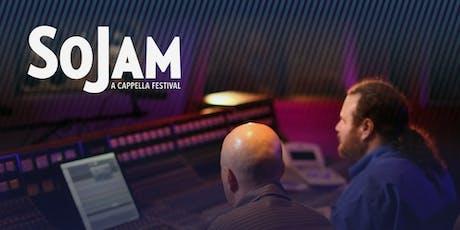 SoJam A Cappella Festival 2019- Manifold Studios - Roundtable and Studio Tour tickets