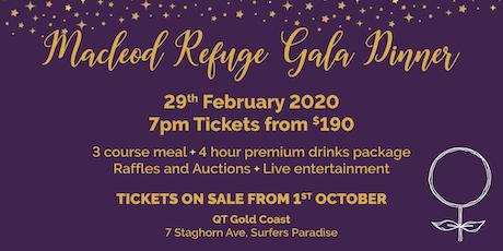 Macleod Refuge Gala Dinner tickets
