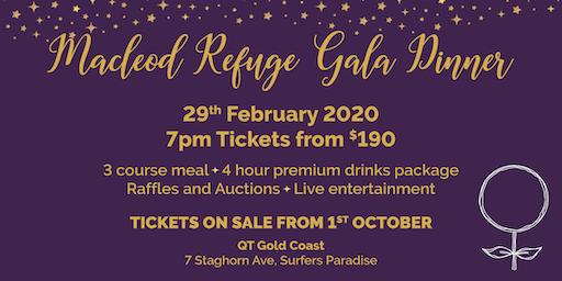 Macleod Refuge Gala Dinner