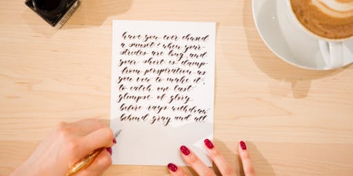 Pop-Up POINTED PEN CALLIGRAPHY WORKSHOPS (Vancouver)