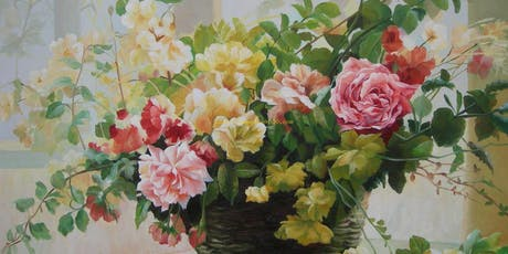 Art Jam for beginners using watercolour and acrylics tickets