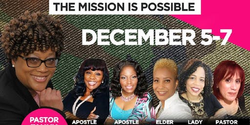 """Sister Circle Retreat 2019  """"Frontline Warriors - The Mission is Possible"""""""