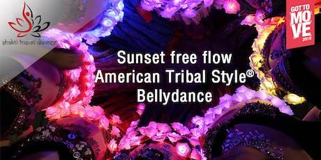 Sunset free flow ATS® Bellydance - EAST COAST PARK tickets