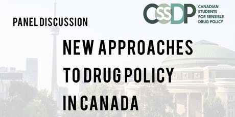 Alternatives to the Drug War in Canada tickets