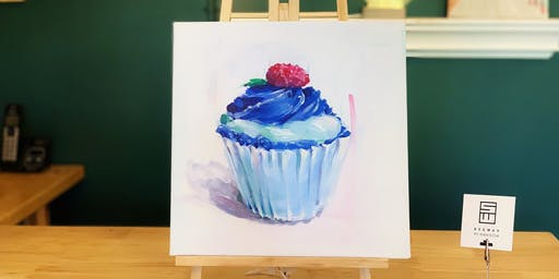 THINGS TO DO -PAINT & SIP EVENT: CUPCAKE