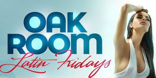 Oak Room Latin Fridays   DjCali & DjKaos   09.20.19