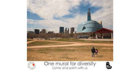 One mural for Diversity tickets