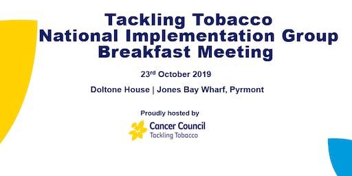 Tackling Tobacco Breakfast Meeting