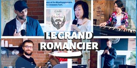 Le Grand Romancier 3e édition billets