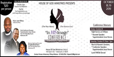 """In HIS Image"" Conference tickets"