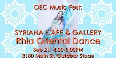 Oriental Dance Performance- OEC Music Festival 2019