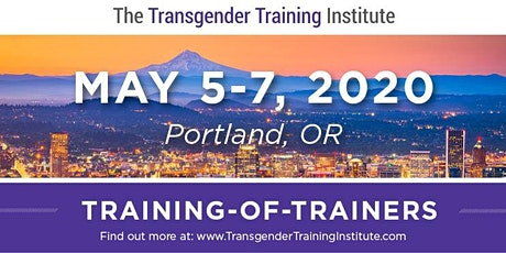 *TTI's Training of Trainers - Portland, OR - May 5-7, 2020 tickets