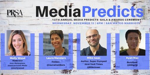 13th Annual MEDIA PREDICTS - PRSA Silicon Valley - November 13, 2019