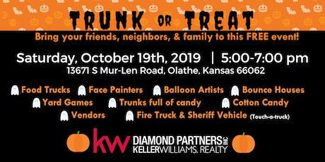 Trunk or Treat at Olathe Keller Williams Diamond tickets