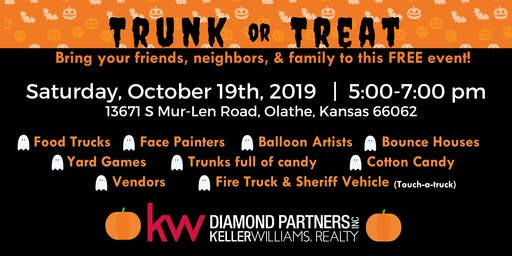 Trunk or Treat at Olathe Keller Williams Diamond