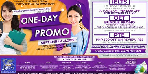 JRooz One-Day Promo on September 21, 2019