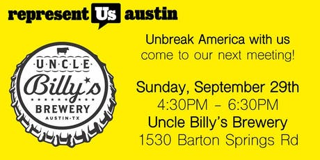 Represent Austin Community Meeting tickets
