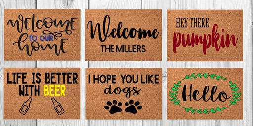 Miscreation Brewery Doormat Workshop