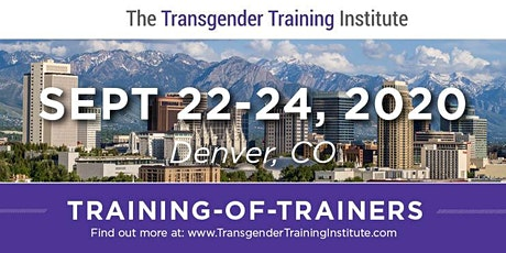*TTI's Training of Trainers - Denver, CO - September 22-24, 2020 tickets