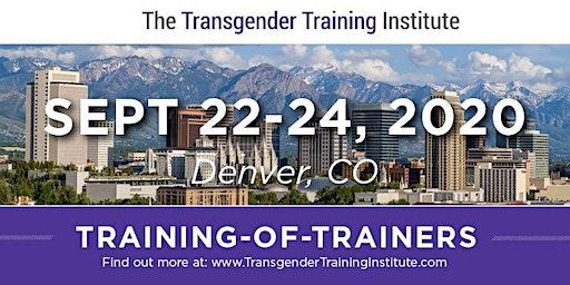 *TTI's Training of Trainers - Denver, CO - September 22-24, 2020