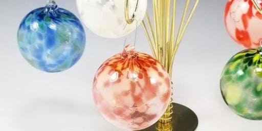 GLASS BLOWING  - Create-Your-Own Blown Glass Christmas Ornament