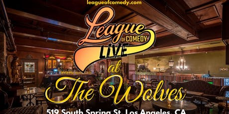 League of Comedy Live at The Wolves tickets