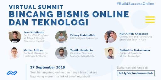 Virtual Summit, Bincang Bisnis Online Dan Teknologi