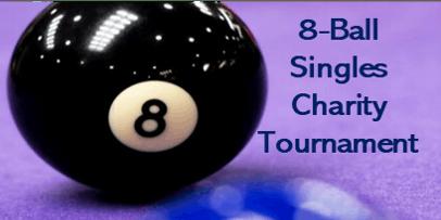 8-Ball Singles Charity Tournament