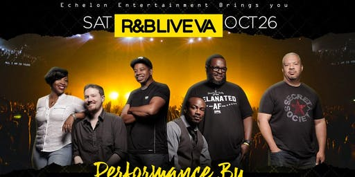 R&B Live VA with Performance by: Secret Society