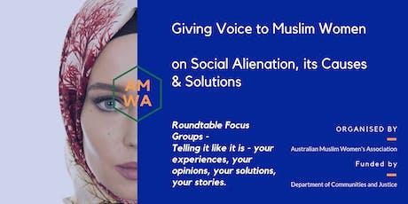 Muslim Women's Roundtable - Parramatta session tickets