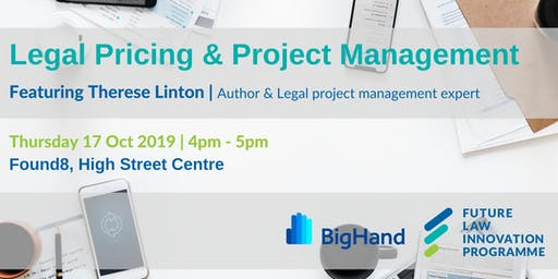 Legal Pricing & Project Management