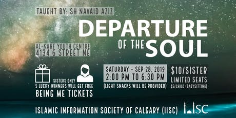 Departure of the Soul - Special Workshop (sister's only) tickets