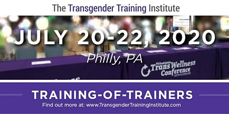 TTI's Training of Trainers - Philly, July 20-22, 2020 tickets