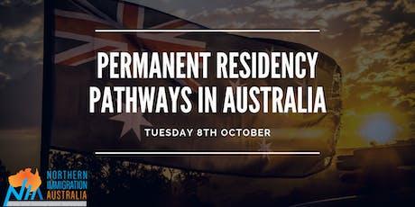 Permanent Residency Pathways in Australia tickets