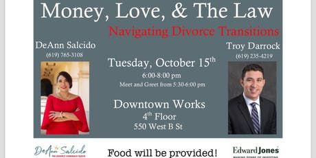 Money, Love and The Law: Navigating Divorce Transitions tickets