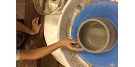 Semi - Private Pottery Wheel Intro (08-15-2020 starts at 11:00 AM) tickets