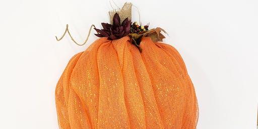 Pumpkin Wreath Workshop