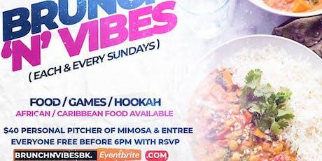 BRUNCH'N'VIBES (Afrobeat inspired brunch in Brooklyn) tickets