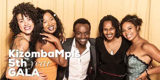 Kizomba Mpls 5th Year  Gala + Afterparty Workshops