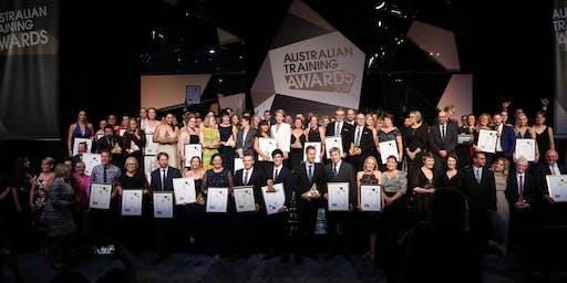 2019 Australian Training Awards Presentation Dinner