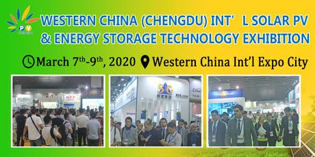 Chengdu Int'l Solar PV & Energy Storage Technology Exhibition 2020 tickets