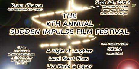 8TH ANNUAL SUDDEN IMPULSE FILM FESTIVAL tickets